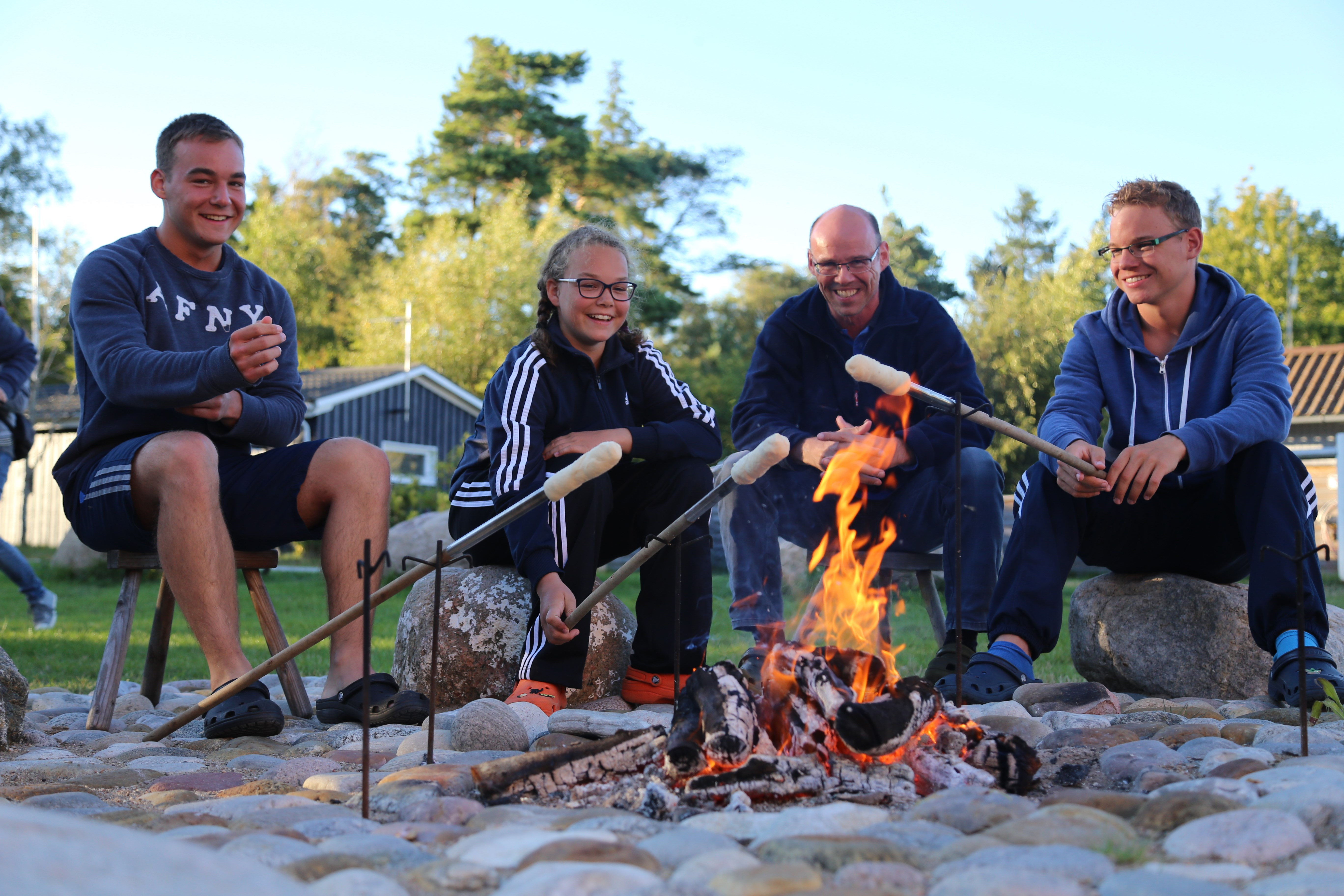 Familiehygge ved Læsø Camping